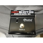 Radial Engineering Hotshot DM1 On-Stage Mic Mute Footswitch