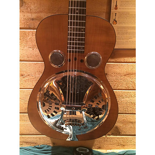 Dobro Hound Dog Deluxe Round Neck Resonator Guitar