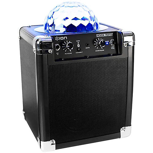 speakers guitar center. ion house party wireless speaker with built-in light show speakers guitar center e