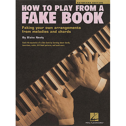 Hal Leonard How To Play From a Fake Book for Keyboard-thumbnail