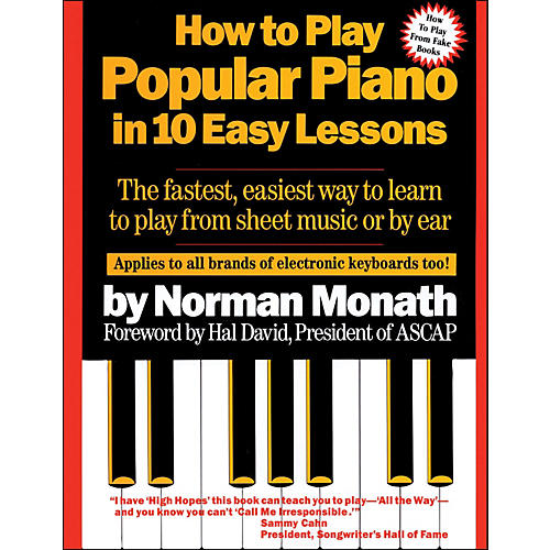 Hal Leonard How To Play Popular Piano In Ten Easy Lessons-thumbnail