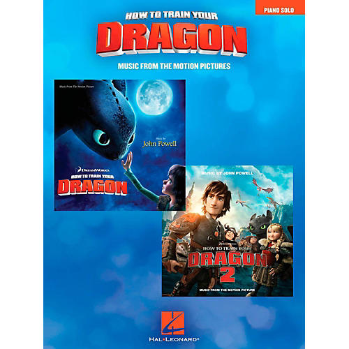 Hal Leonard How To Train Your Dragon - Music From The Motion Pictures for Piano Solo-thumbnail