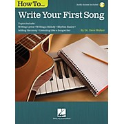How To Write Your First Song (Book/Online Audio)