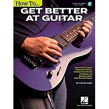 Hal Leonard How to Get Better at Guitar Book/Audio Online