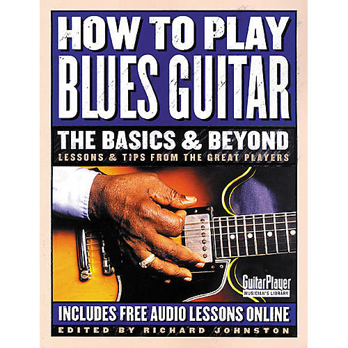 Backbeat Books How to Play Blues Guitar: The Basics and Beyond Book-thumbnail