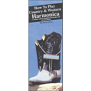 Music Sales How to Play Country and Western Harmonica Book by Music Sales