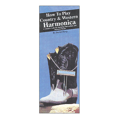 Music Sales How to Play Country and Western Harmonica (Book)-thumbnail