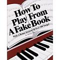 Alfred How to Play From a Fake Book-thumbnail