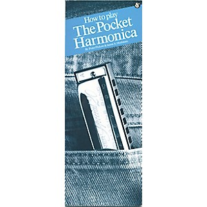 Music Sales How to Play Pocket Harmonica Book by Music Sales