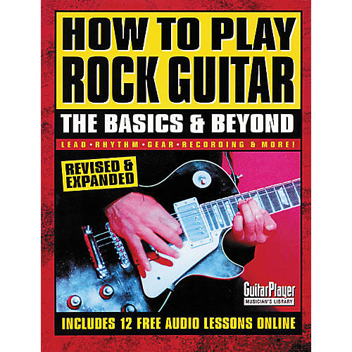 Backbeat Books How to Play Rock Guitar - The Basics and Beyond Book-thumbnail