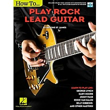 Hal Leonard How to Play Rock Lead Guitar Book/Video Online
