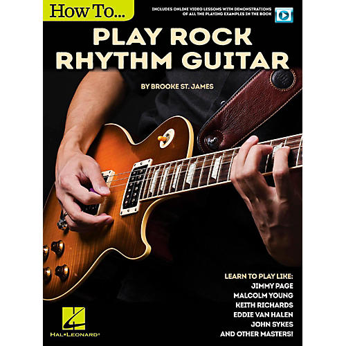 Hal Leonard How to Play Rock Rhythm Guitar - Book/Video Online-thumbnail