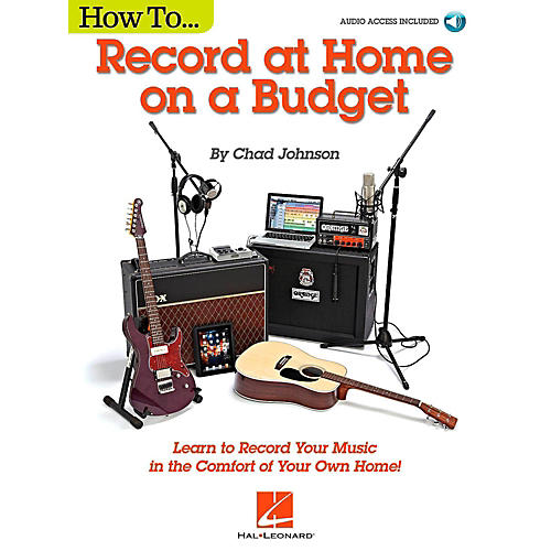 Hal Leonard How to Record at Home on a Budget - Book/Audio Online-thumbnail