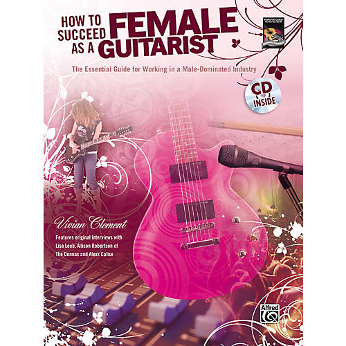 Alfred How to Succeed as a Female Guitarist Book and CD-thumbnail