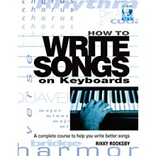Backbeat Books How to Write Songs on Keyboards - A Complete Course to Help You Write Better Songs (Book)