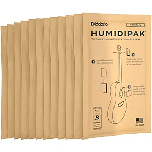 Daddario Planet Waves HuMIDIpak Replacement Packs Four 3 Packs