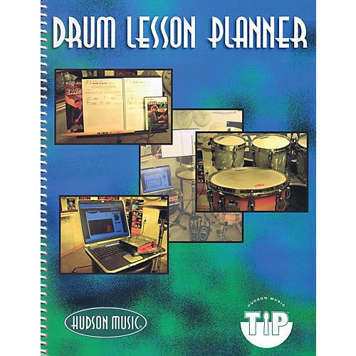 Hudson Music Hudson Music Drum Lesson Planner (Workbook)-thumbnail