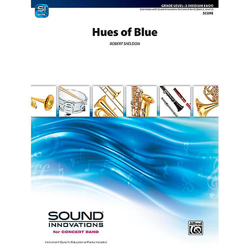 Alfred Hues of Blue Concert Band Grade 2 (Easy)