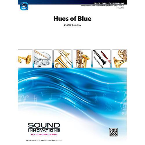 Alfred Hues of Blue Concert Band Grade 2 (Easy)-thumbnail