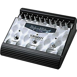 Hughes & Kettner Tubeman Tube-Driven 3-Channel Guitar Recording Station (TUBEMAN)
