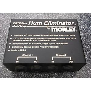 Pre-owned Morley Hum Eliminator Feedback Suppressor by Morley