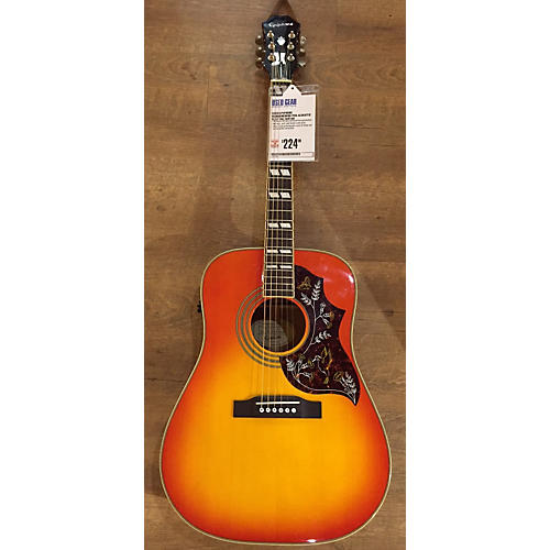 Epiphone Hummingbird Acoustic Guitar-thumbnail