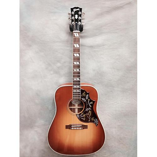 Gibson Hummingbird Acoustic Guitar Honey Burst