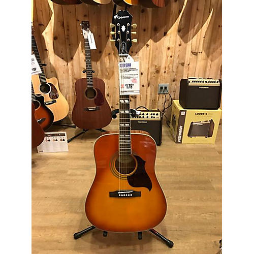 Epiphone Hummingbird Artist Faded Acoustic Guitar
