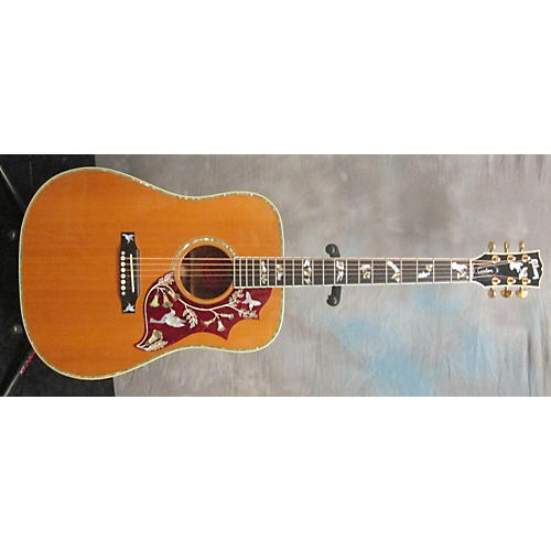 Gibson Hummingbird Custom Koa Acoustic Electric Guitar-thumbnail