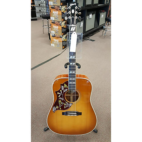 Gibson Hummingbird Left Handed Acoustic Electric Guitar