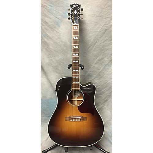 used gibson hummingbird pro acoustic electric guitar guitar center. Black Bedroom Furniture Sets. Home Design Ideas