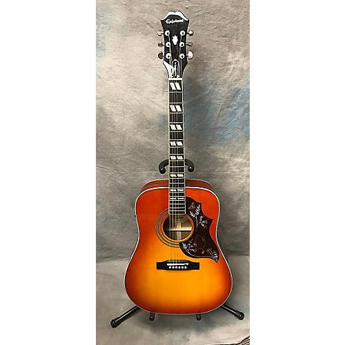 Epiphone Hummingbird Pro Acoustic Electric Guitar-thumbnail
