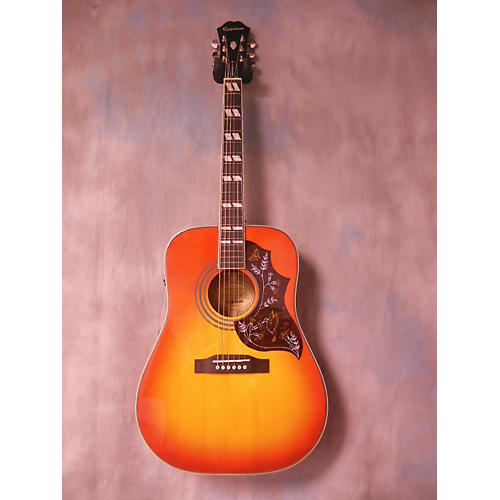Epiphone Hummingbird Pro Acoustic Electric Guitar-thumbnail