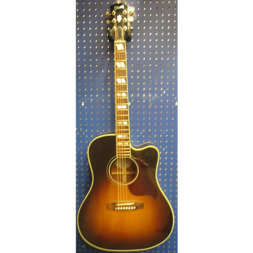 Gibson Hummingbird Pro Brown Sunburst Acoustic Electric Guitar