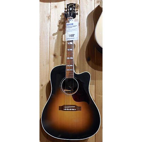 Gibson Hummingbird Pro CW Sunburst Acoustic Electric Guitar
