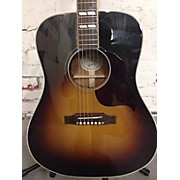 Gibson Hummingbird Pro Repaired Headstock Acoustic Electric Guitar