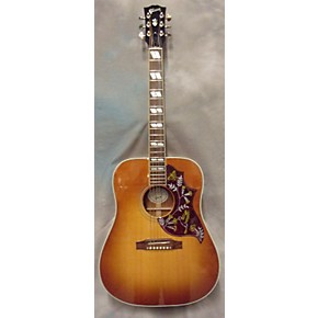 used gibson hummingbird square shoulder acoustic electric guitar guitar center. Black Bedroom Furniture Sets. Home Design Ideas