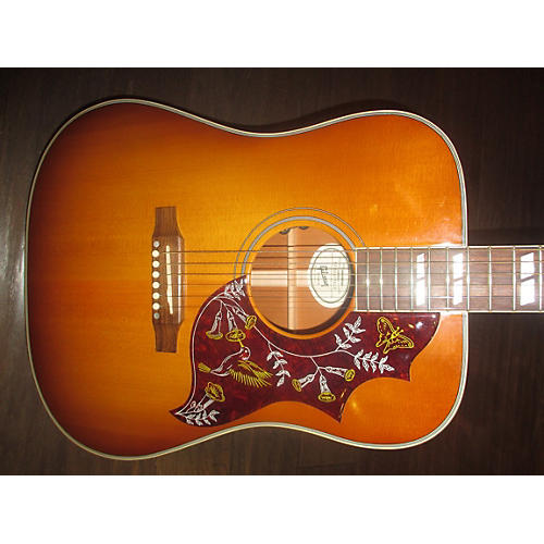 used gibson hummingbird square shoulder acoustic electric guitar guitar center. Black Bedroom Furniture Sets. Home Design Ideas