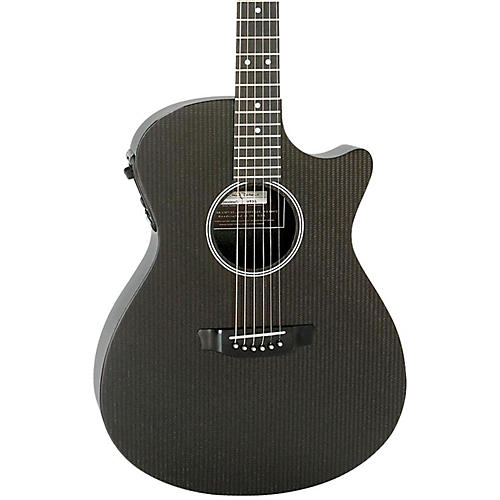 RainSong Hybrid Series H-OM1000N2 Slim Body Cutaway Acoustic-Electric Guitar-thumbnail