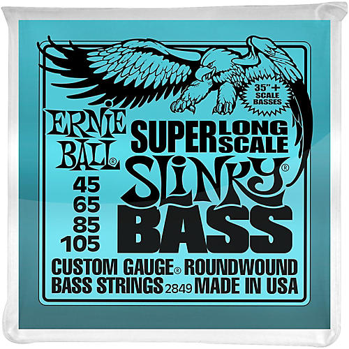Ernie Ball Hybrid Slinky Bass Strings Super Long Scale-thumbnail