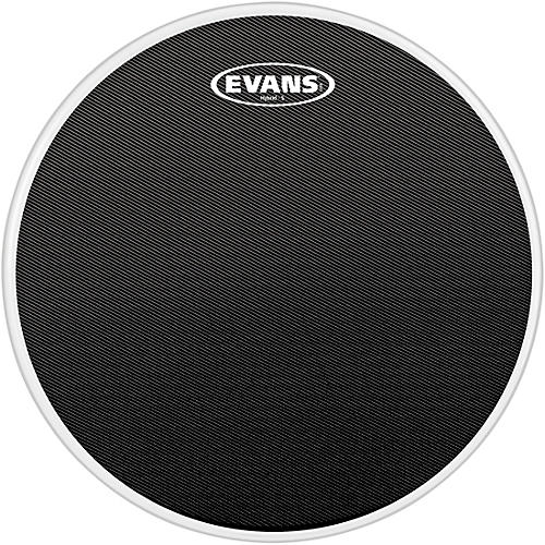 Evans Hybrid-Soft Marching Snare Drum Batter Head Black-thumbnail