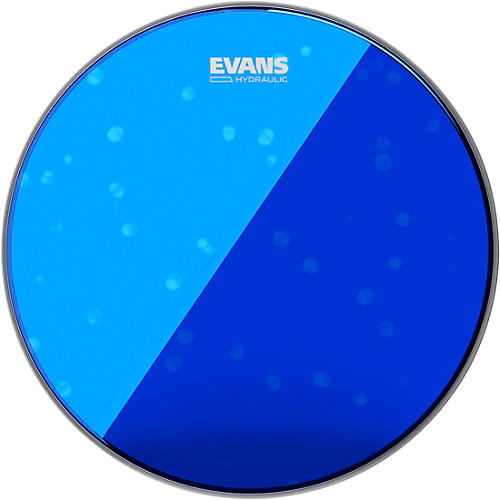 Evans Hydraulic Bass Drumhead Blue 22 in.