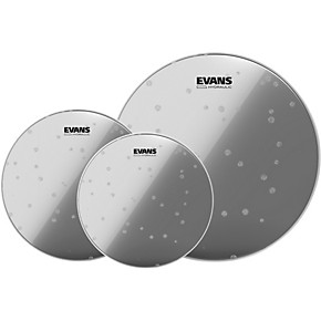 evans hydraulic glass 10 12 14 fusion drum head pack guitar center. Black Bedroom Furniture Sets. Home Design Ideas