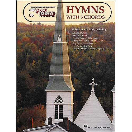 Hal Leonard Hymns With 3 Chords E-Z Play 65-thumbnail