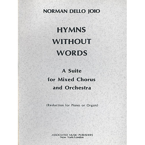 Associated Hymns Without Words (SATB) SATB composed by Norman Dello Joio