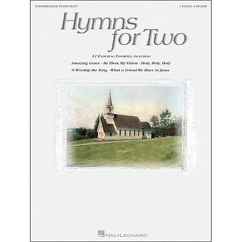 Hal Leonard Hymns for Two Intermediate Piano Duet 1 Piano, 4 Hands-thumbnail