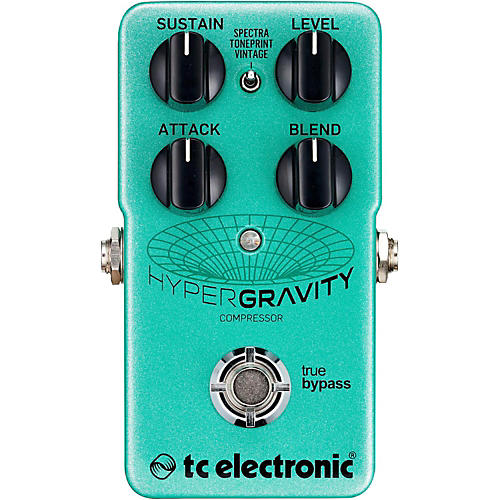 TC Electronic HyperGravity Compressor Guitar Pedal-thumbnail
