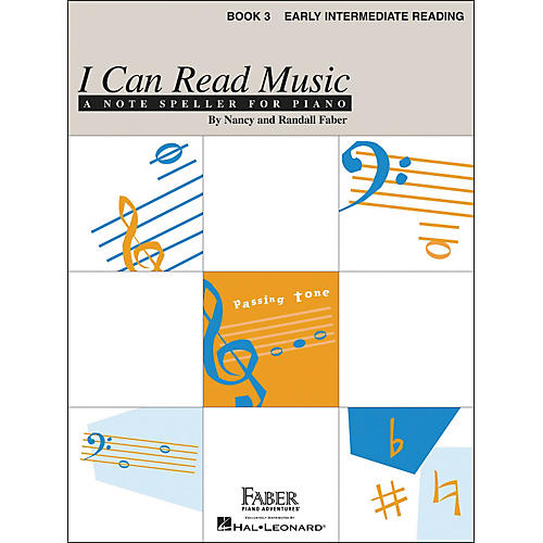 Faber Piano Adventures I Can Read Music Book 3 - Early Intermediate Reading - Faber Piano