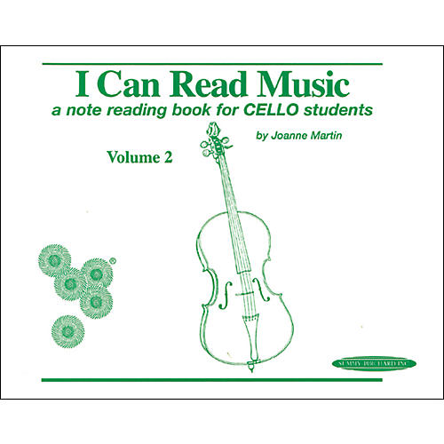 Alfred I Can Read Music for Cello, Volume 2 Book-thumbnail