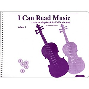 Alfred I Can Read Music for Viola, Volume 1 Book by Alfred